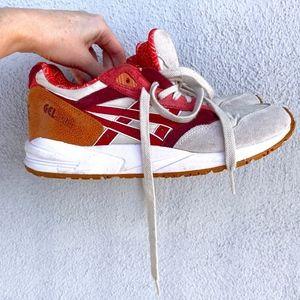 UO Asics Gel Saga Leather Running Shoes 8